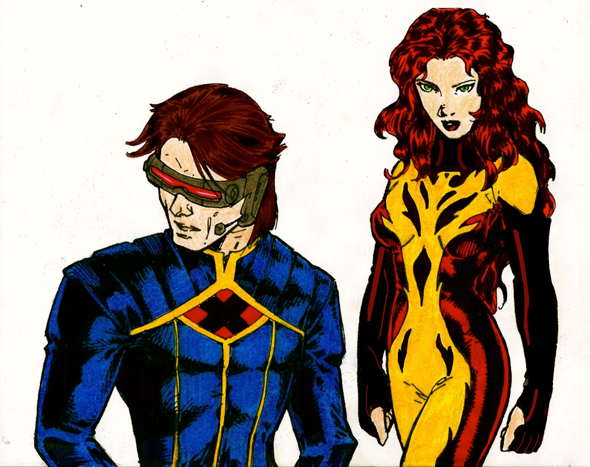 Cyclops and Jean Grey 101
