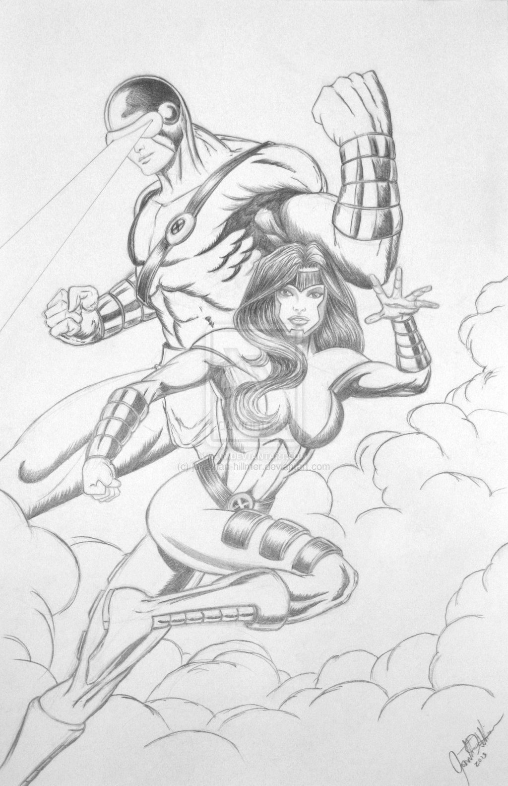 Cyclops and Jean Grey 106