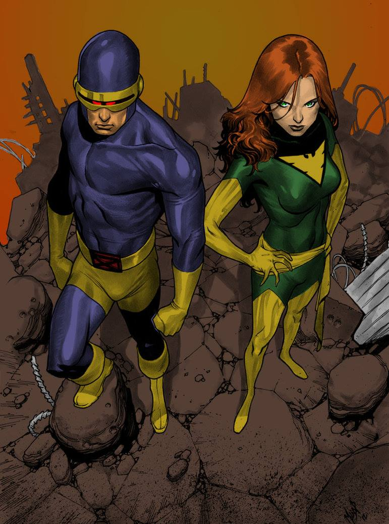 Cyclops and Jean Grey 107
