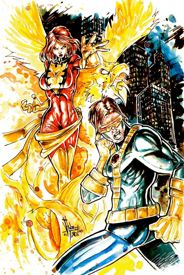Cyclops and Jean Grey 111