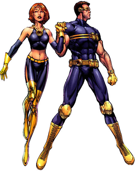 Cyclops and Jean Grey 11