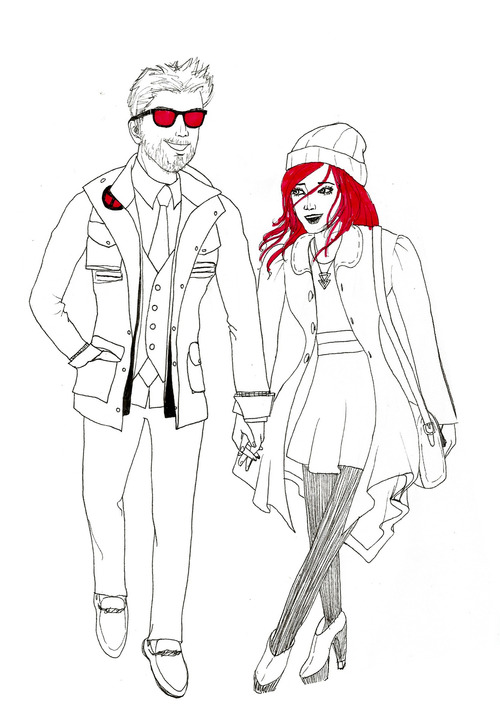 Cyclops and Jean Grey 128