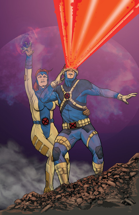 Cyclops and Jean Grey 130