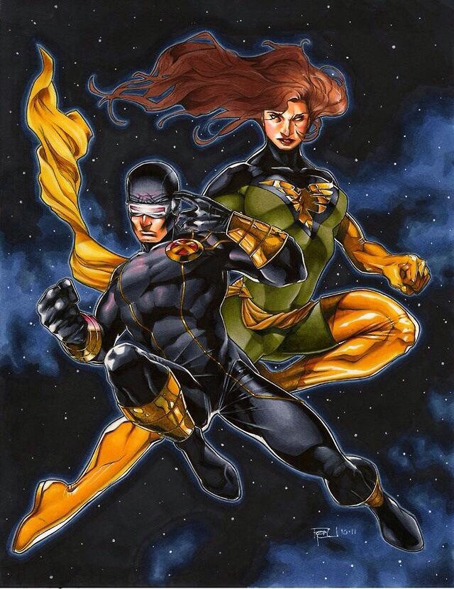 Cyclops and Jean Grey 132