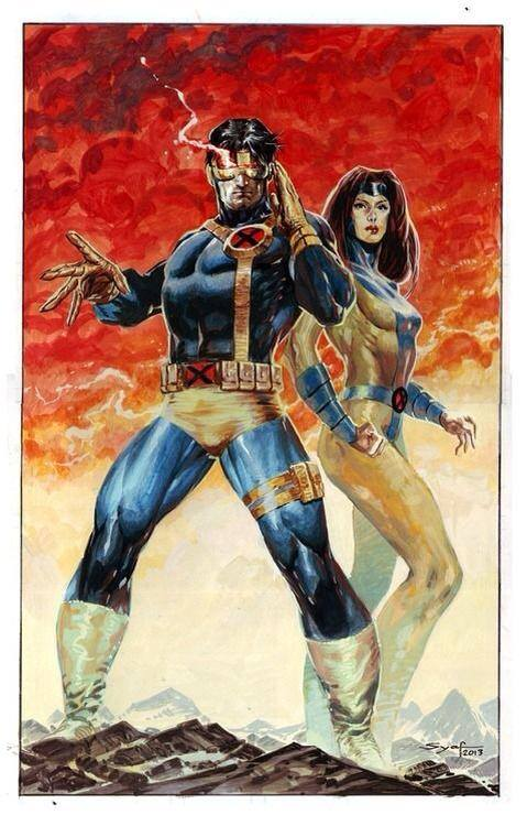 Cyclops and Jean Grey 138