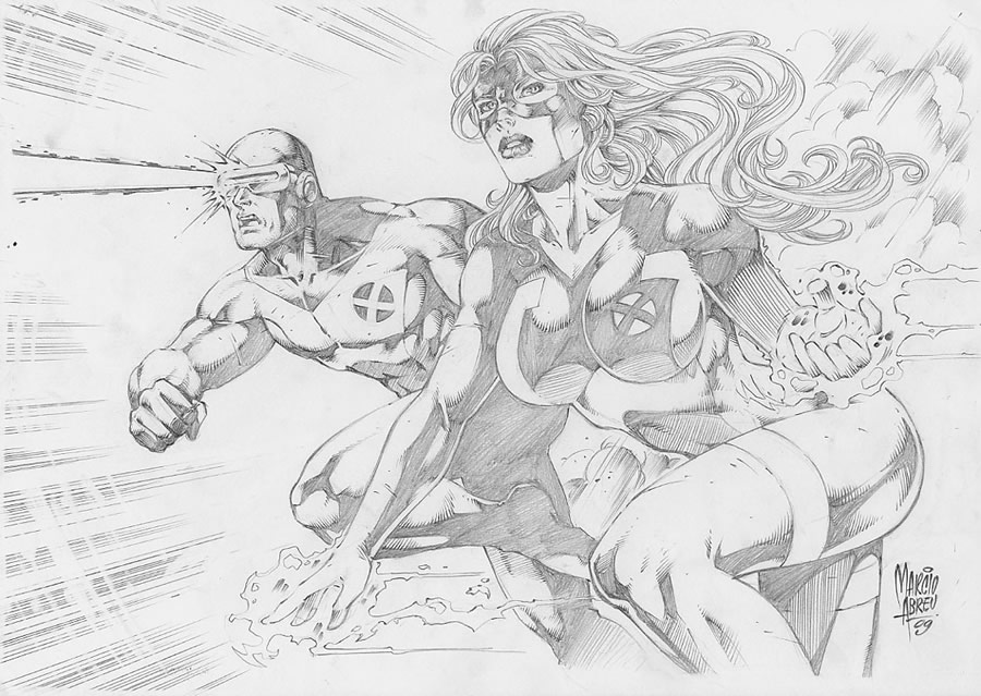 Cyclops and Jean Grey 14