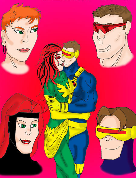 Cyclops and Jean Grey 19