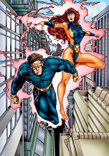 Cyclops and Jean Grey 29