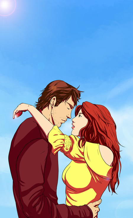 Cyclops and Jean Grey 40