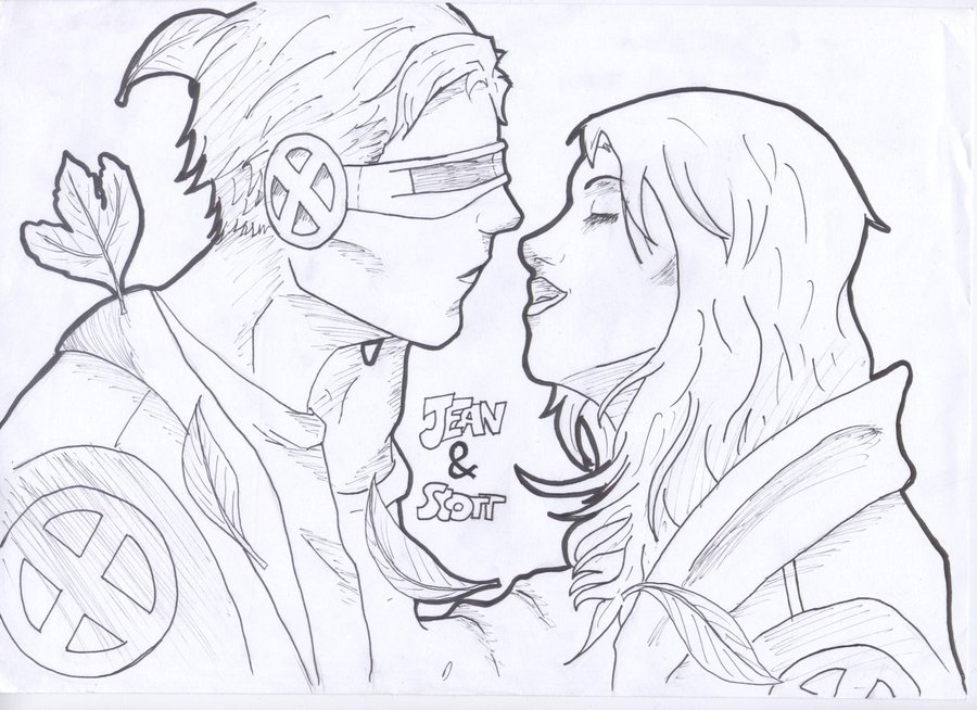 Cyclops and Jean Grey 47