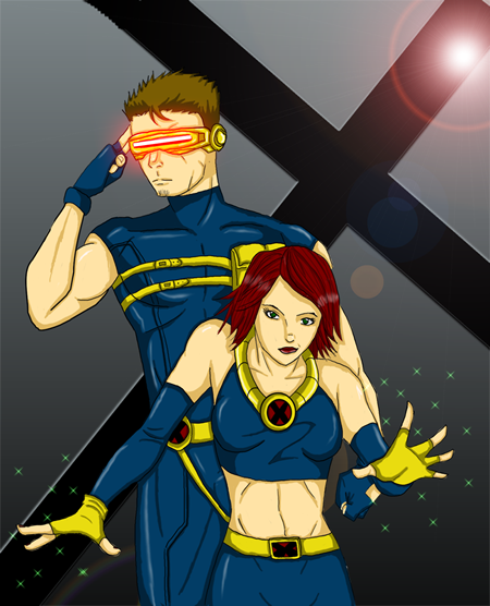 Cyclops and Jean Grey 48