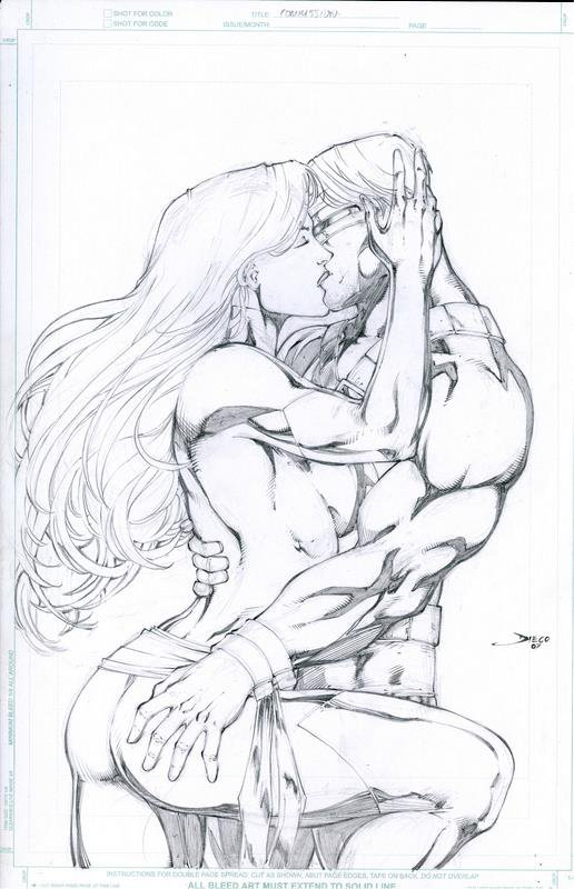 Cyclops and Jean Grey 65