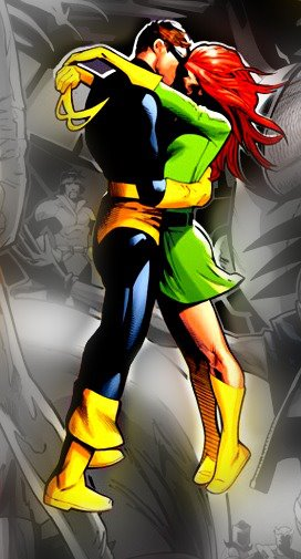 Cyclops and Jean Grey 69