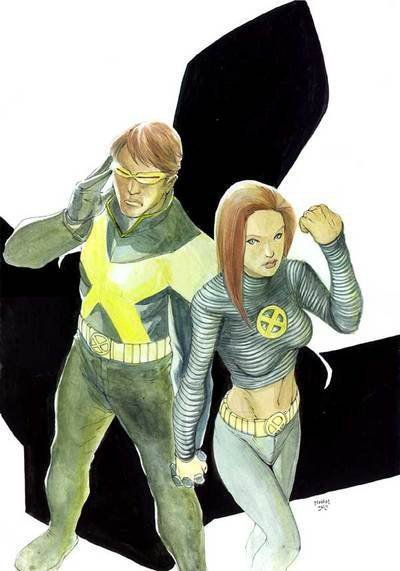 Cyclops and Jean Grey 71