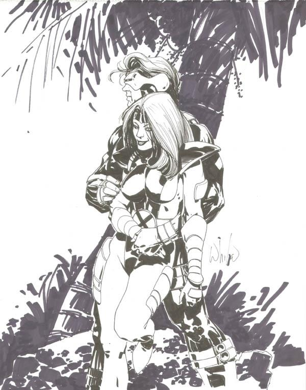 Cyclops and Jean Grey 72