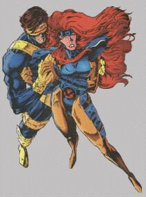 Cyclops and Jean Grey 82