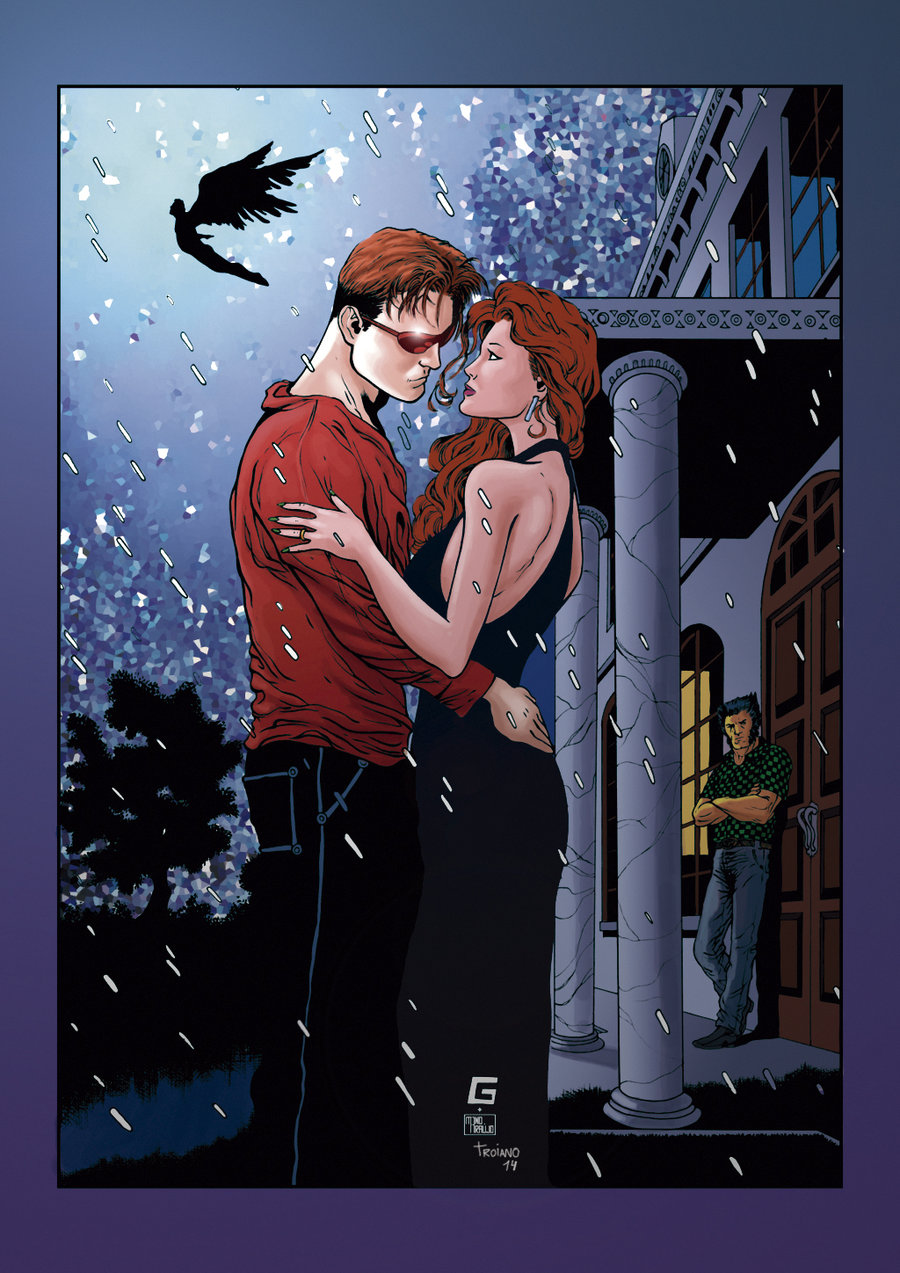 Cyclops and Jean Grey 87