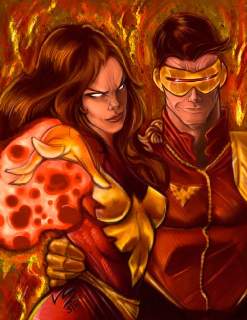 Cyclops and Jean Grey 90