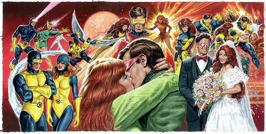 Cyclops and Jean Grey 93