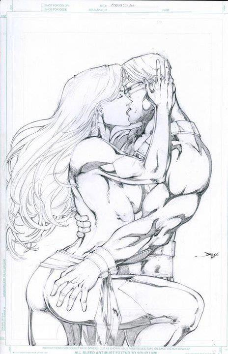 Cyclops and Jean Grey 94