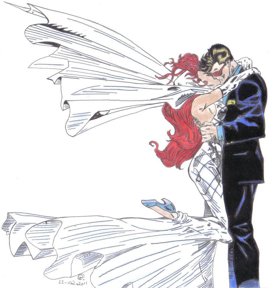 Cyclops and Jean Grey 96