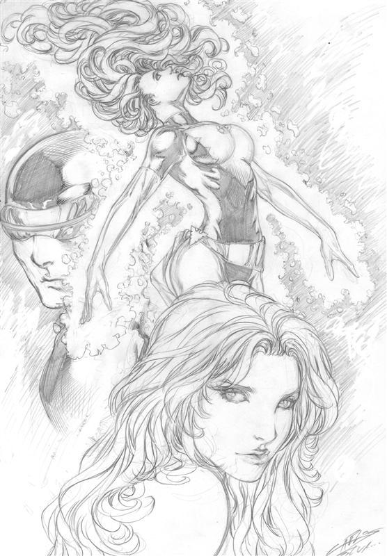 Cyclops and Jean Grey 97
