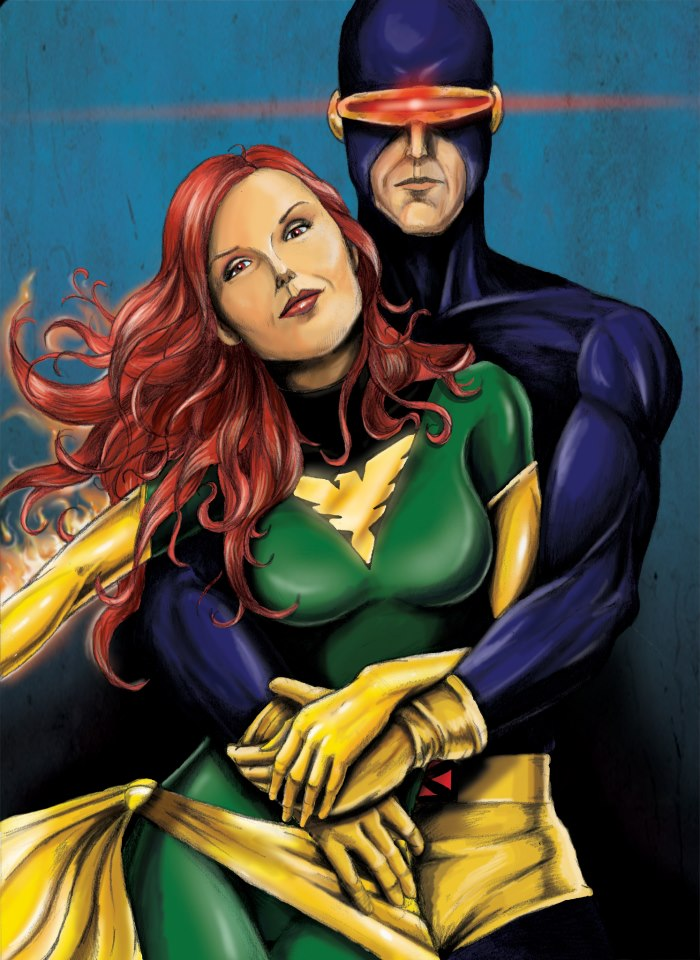 Cyclops and Jean Grey 98