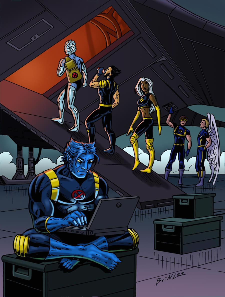 X-men Supreme Issue 18: Uprising Part 2 Panel 1