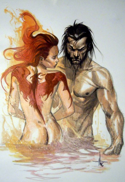 Wolverine and Jean Grey Pic 11