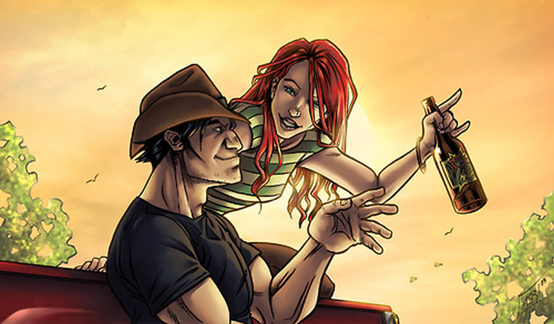 Wolverine and Jean Grey Pic 12