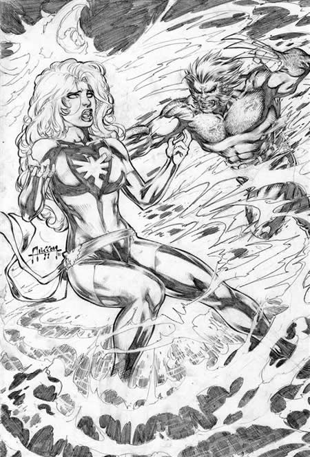 Wolverine and Jean Grey Pic 13