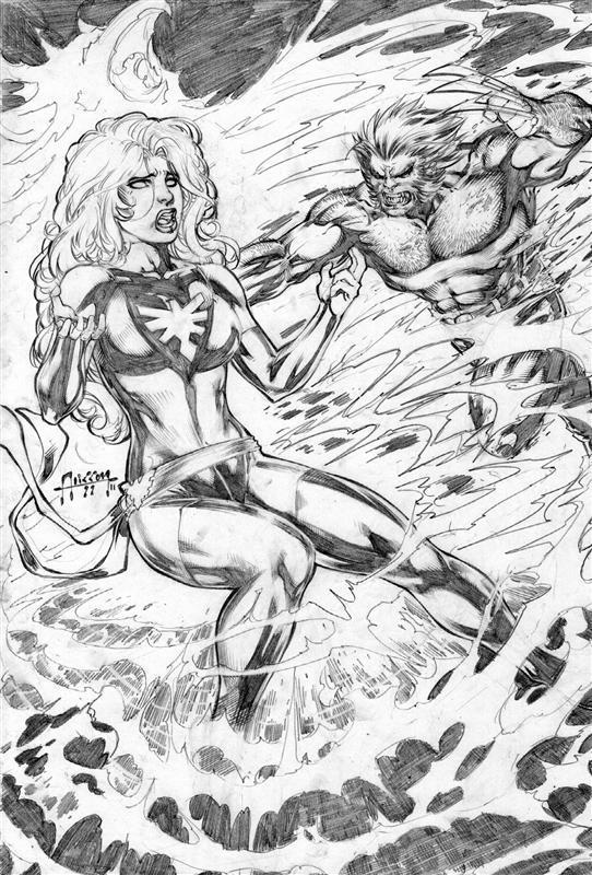 Wolverine and Jean Grey Pic 16