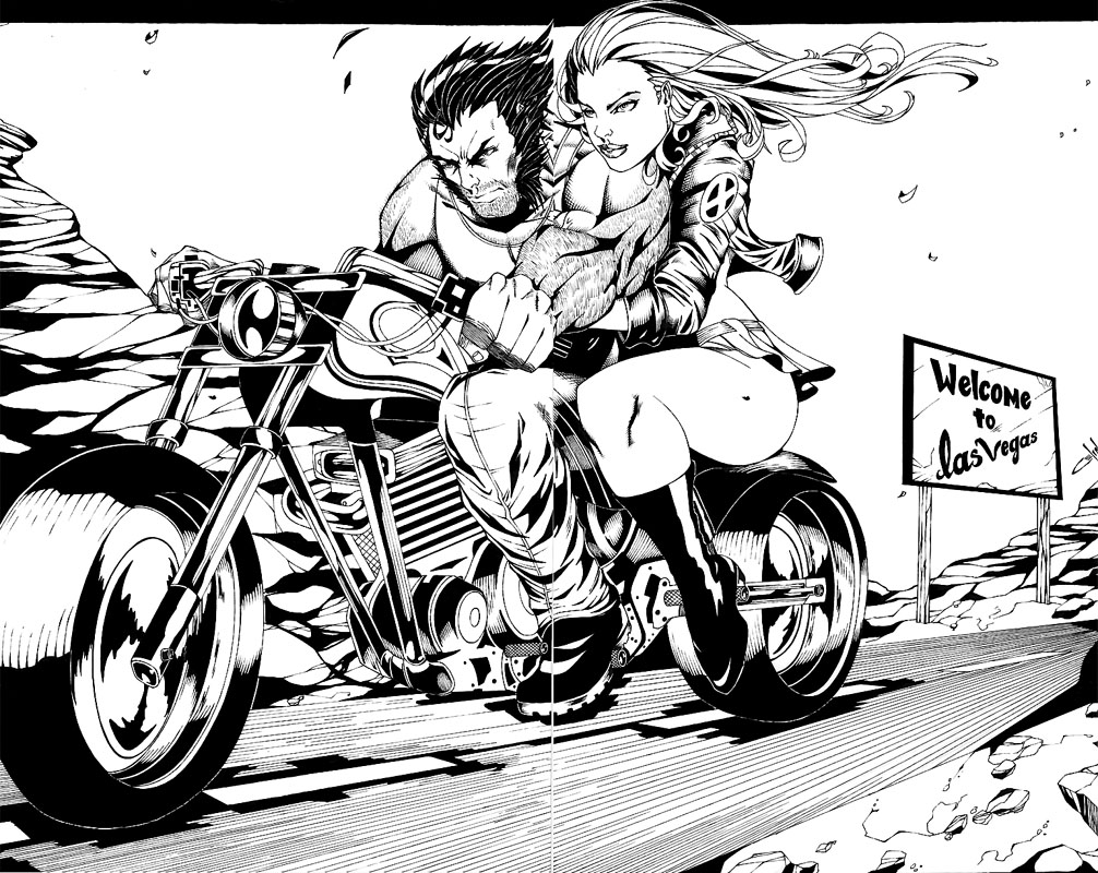 Wolverine and Jean Grey Pic 18