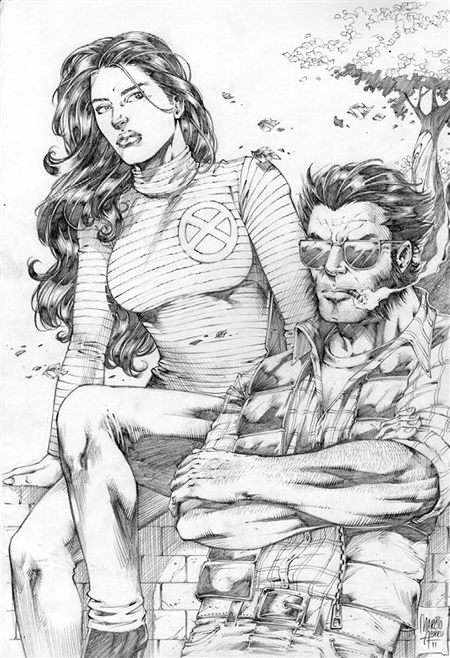 Wolverine and Jean Grey Pic 2