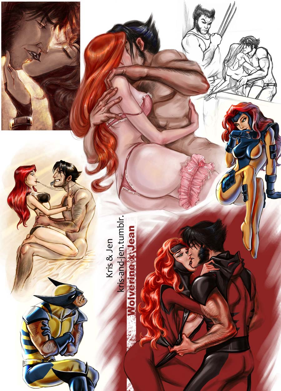 Wolverine and Jean Grey Pic 21