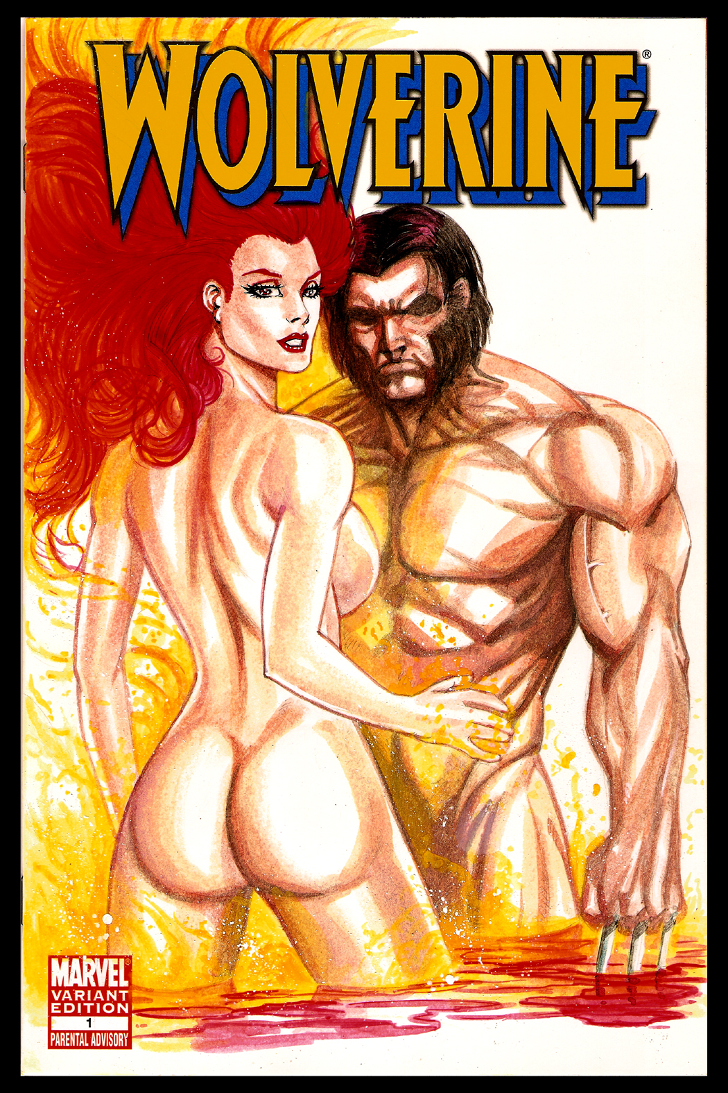 Wolverine and Jean Grey Pic 24