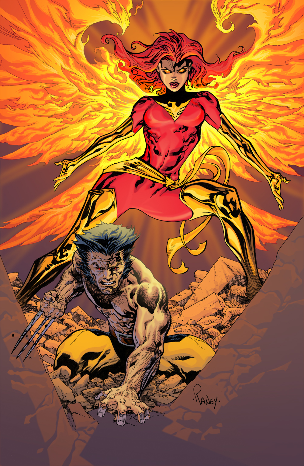 Wolverine and Jean Grey Pic 29