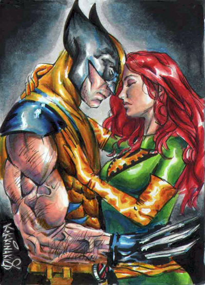 Wolverine and Jean Grey Pic 33