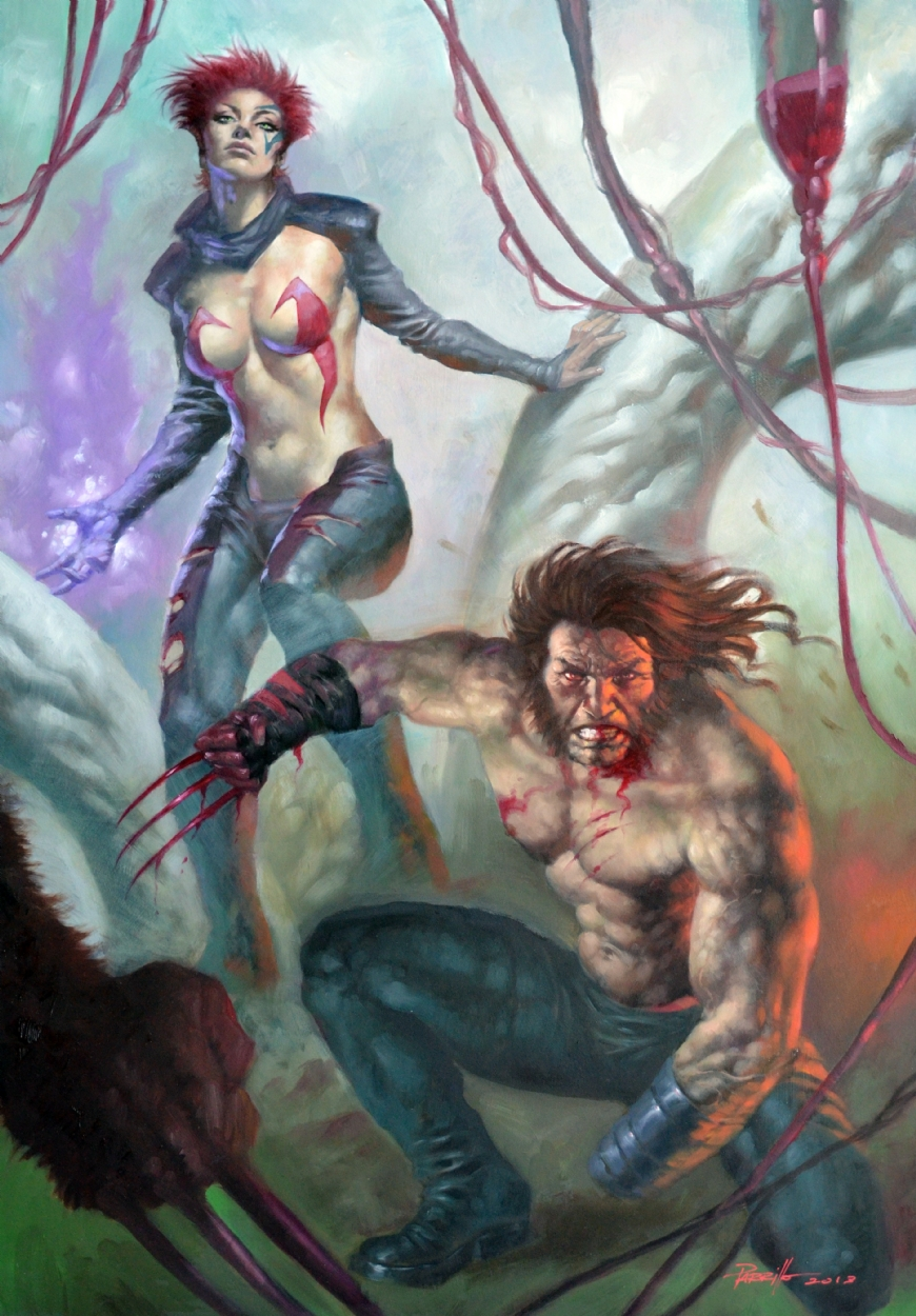 Wolverine and Jean Grey Pic 35