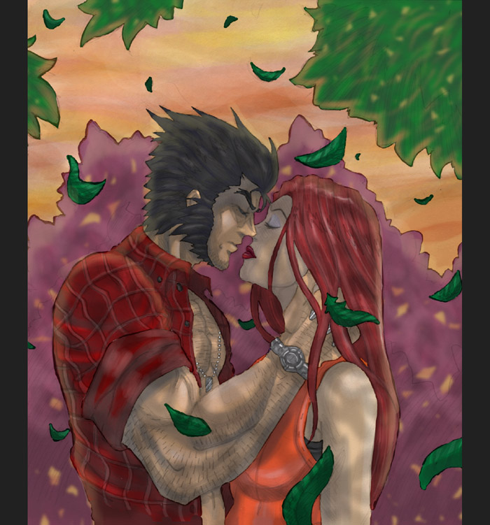 Wolverine and Jean Grey Pic 37