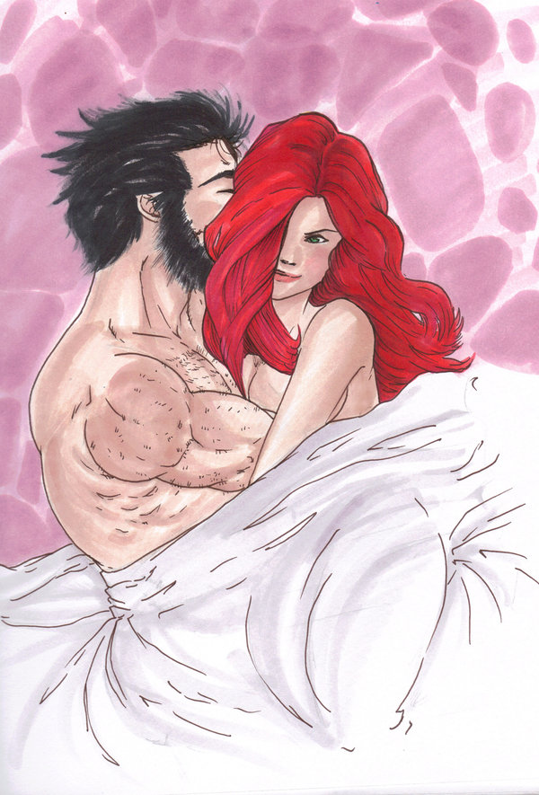 Wolverine and Jean Grey Pic 39