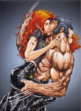 Wolverine and Jean Grey Pic 4
