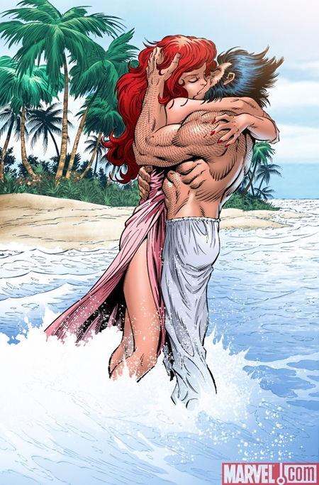 Wolverine and Jean Grey Pic 6