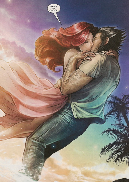 Wolverine and Jean Grey Pic 7