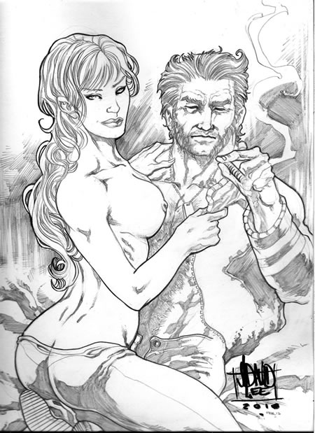 Wolverine and Jean Grey Pic 9